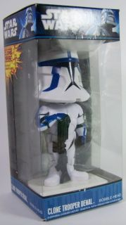 New Funko Star Wars Clone Trooper Denal Bobble Head Bobblehead Wacky