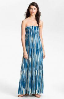 Velvet by Graham & Spencer Atlantis Tiered Strapless Maxi Dress