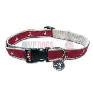 Alabama Crimson Tide Woven Ribbon Collar S