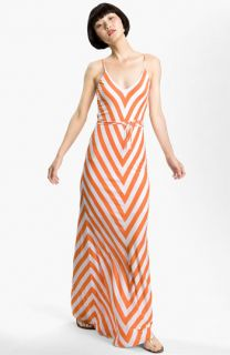 FELICITY & COCO Chevron Print Jersey Tank Maxi Dress ( Exclusive)