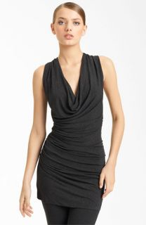 Donna Karan Collection Ruched Jersey Tunic