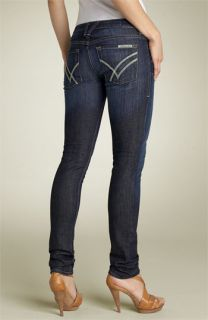 William Rast Jerri Ultra Skinny Stretch Jeans (Dark Handsand Wash)