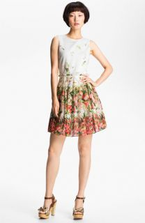 RED Valentino Strawberry Print Dress