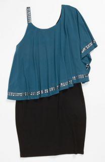 Elisa B Ruffle Top Dress (Big Girls)