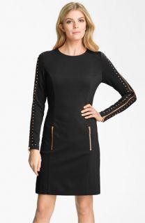 MICHAEL Michael Kors Studded Ponte Sheath Dress