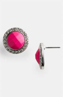 Carole Rhinestone Stud Earrings