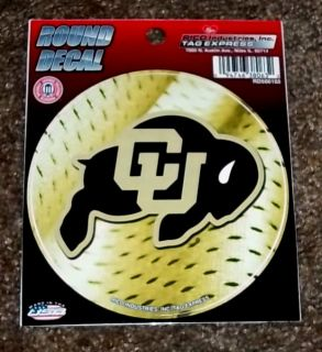 Colorado Buffaloes NCAA Vinyl Sports Decal Bumper Sticker Free