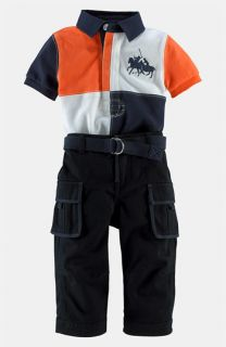 Ralph Lauren Polo & Cargo Pants (Infant)