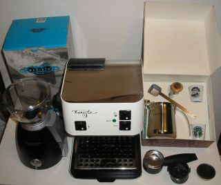 Barista Saeco Espresso Machine Burr Coffee Grinder Accessories