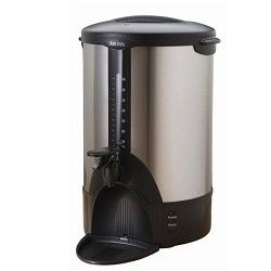 Aroma ACU 140s Stainless Steel 40 Cup Coffee Urn