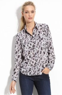 Gianetta Flap Pocket Crepe Shirt