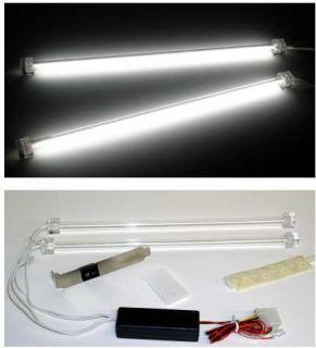 Logisys 12 Dual White Cold Cathode Light Kit Mod Case