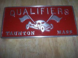 Car Club Plaque Qualifiers Mass Hot Rat Rod Drag Plate