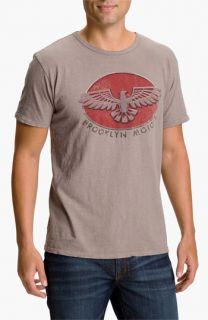 Brooklyn Motors Eagle Screenprint T Shirt