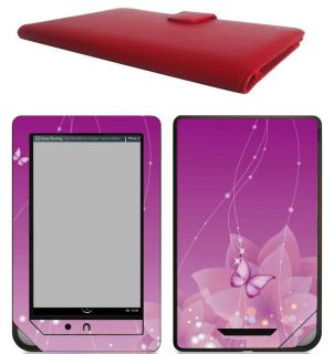 Nook Color Leather Case Cover Jacket Skin Accessories