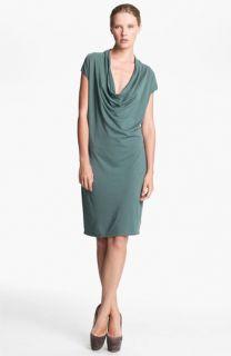 HELMUT Helmut Lang Draped Jersey Dress