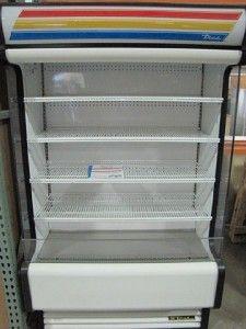 True Commercial Air Curtain Display Cooler Merchandiser