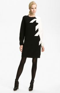 3.1 Phillip Lim Houndstooth Knit Dress