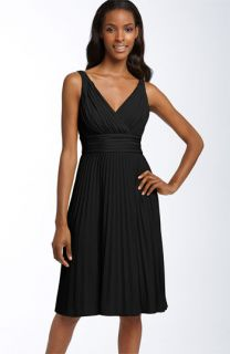 Suzi Chin for Maggy Boutique Pleated Jersey Dress (Petite)