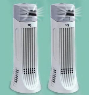 TWO NEW IONIC AIR PURIFIER PRO FRESH IONIZER BREEZE CLEANER apa01