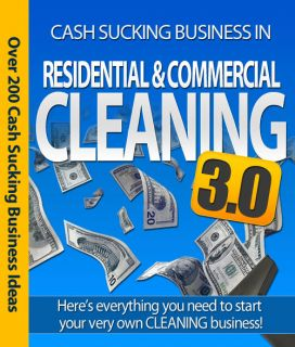 Someone Else and Start Your Own Home Based Cleaning Business