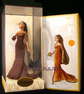 Pocahontas Designer Princess Collection Doll A  Exclusive