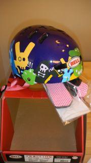 Bell Fraction Bike Helmet Purple Critters Xtra Small