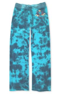 Juicy Couture Tie Dye Velour Pants (Big Girls)