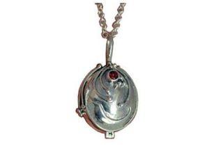 Vampire Diaries Elena Vervain Necklace Silver Necklace