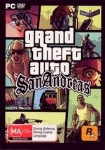 Grand Theft Auto San Andreas for PC 100 Brand New