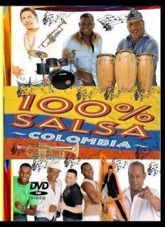 Salsa Colombiana #1 DVD Grupo Niche Joe Arroyo Guayacan Gale Fruko