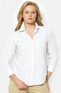 Lauren Ralph Lauren Button Up Shirt (Plus)