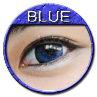 Color Contact Lenses Style Blue Big Eye Farb Funlinsen