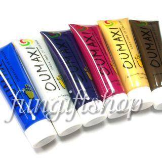 Nail Art 12 Colors Tube Set Paint Painting Acrylic Gel
