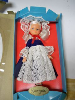 Uneeda American Gem Collection Doll Georgia 70860 1974