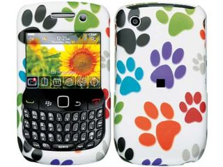 Crystal Case Cover Blackberry Curve 2 8520 8530 Dog Paw