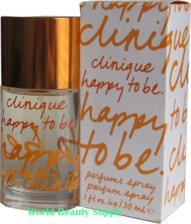 Happy to Be by Clinique Perfume for Women 1 0 oz 30 ml EDP Spray New