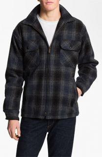 Pendleton Plaid Wool Shirt Jacket