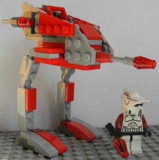 Lego Star Wars Clone Wars Custom Commander Thire ARF Trooper 9488