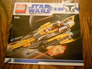 Lego Star Wars The Clone Wars Anakins Jedi Starfighter (7669)