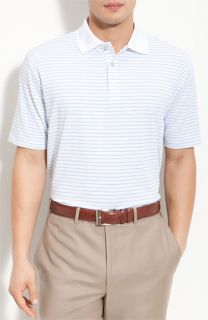 Peter Millar Single Stripe Lisle Polo
