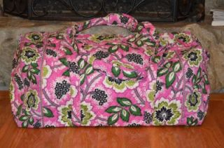 Extra Large XL Duffel Bag Travel Tote Luggage Priscilla Pink NWT