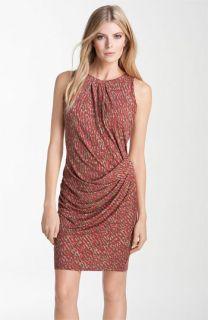 MICHAEL Michael Kors Pleated Sheath Dress (Petite)