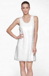 Marc New York by Andrew Marc Sleeveless Sequin Shift Dress