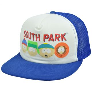 Comedy Central South Park Eric Cartman Stan Kyle Kenny Flat Trucker