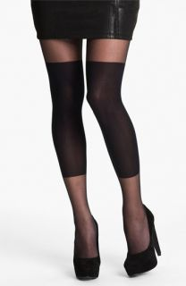Hot Sox Blocked Knee Sheer Tights