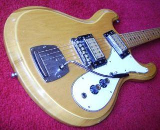 RARE* VINTAGE UNIVOX HI FLIER PHASE III GUITAR MOSRITE MIJ JAPAN 60s
