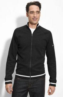 Dunning Merino Wool Zip Front Sweater
