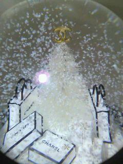Chanel 2012 Snow Globe Dome Gift Thanks Giving Christmas Manday Bag