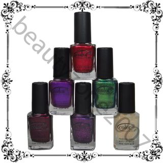 Color Club 2012 Winter Affair Holiday Collection Nail Polish Lacquer 0